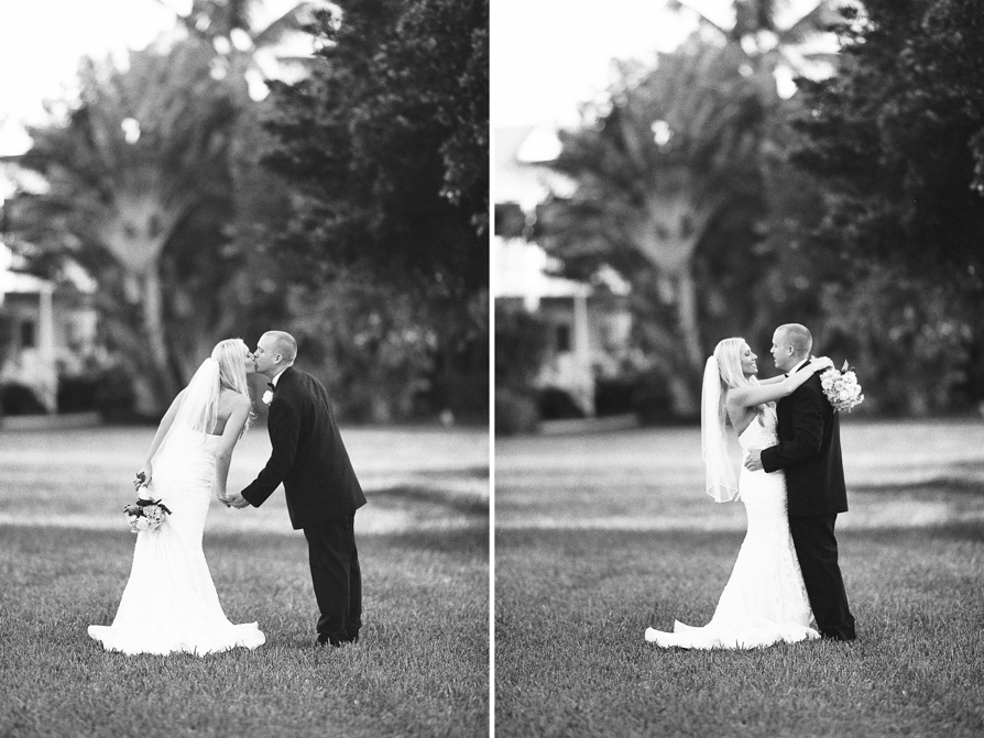 Black and White wedding -12 film photography, florida key photographer, hawks cay weddings, hawks cay wedding photography, florida keys film photographer