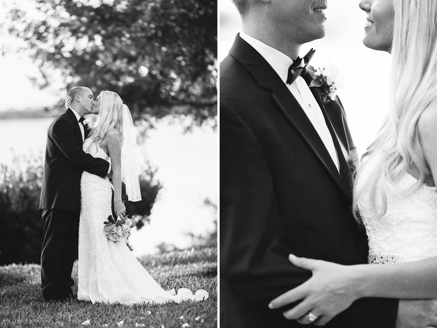 Black and White wedding -13