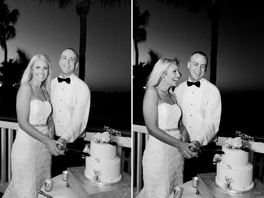 Black and White wedding -19