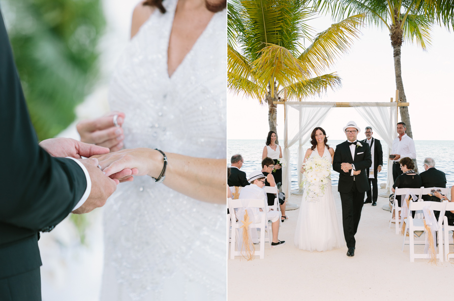 Black And White Wedding At Cheeca Lodge Resort Florida