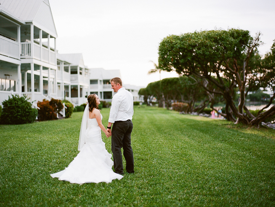 Hawks Cay Wedding, Florida Keys Film photographer