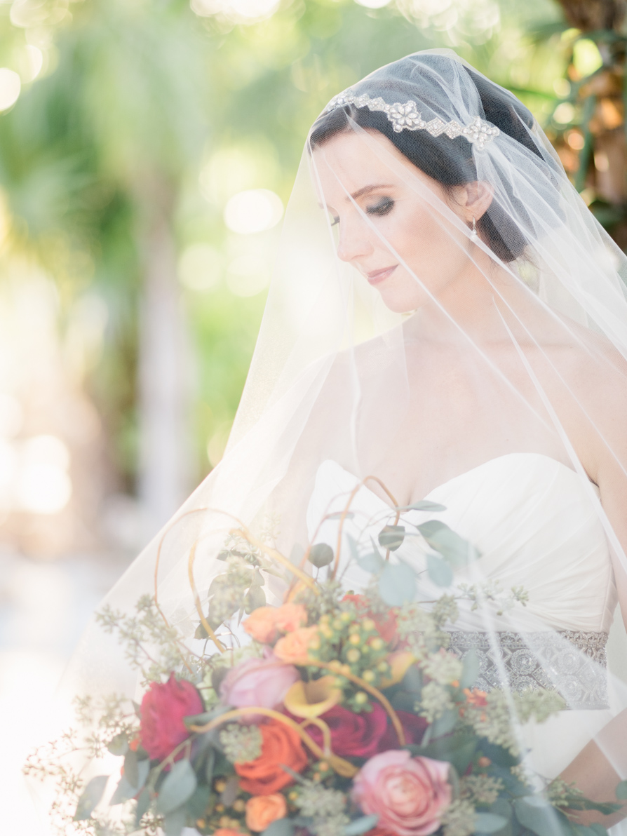 Backyard Wedding at the Florida Keys, featured on Ruffled Blog