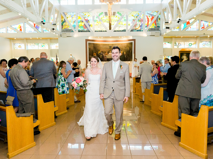 St. Justin the Martyr Catholic Church/ Key largo Wedding Photographer