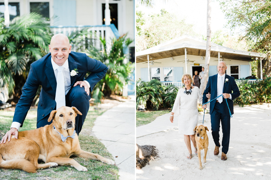 dog friendly wedding, key west wedding