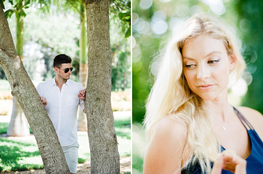 Miami engagement session, miami film photographer
