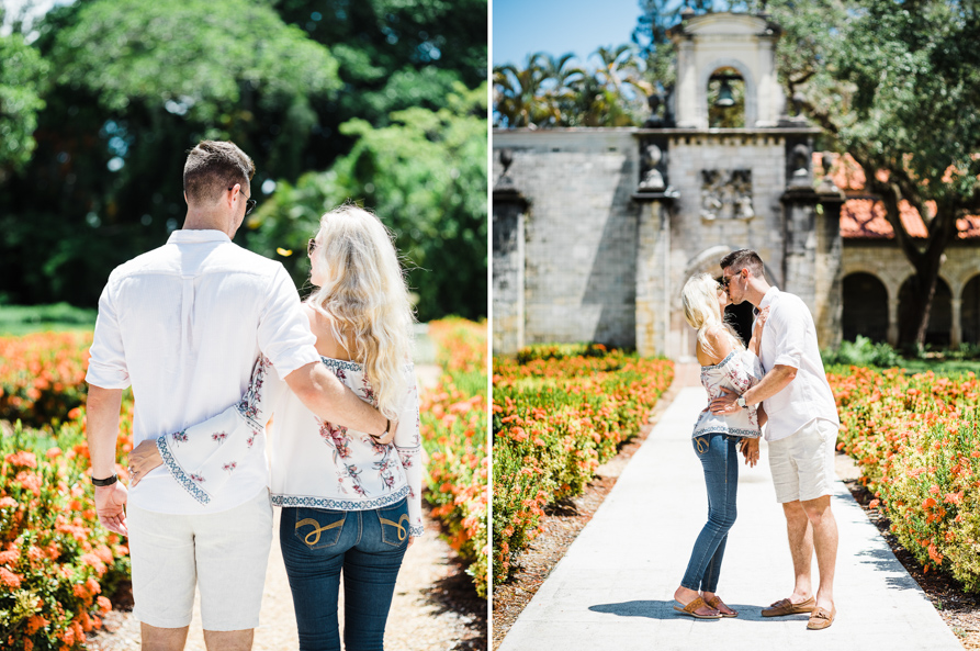Miami engagement session, miami film photographer
