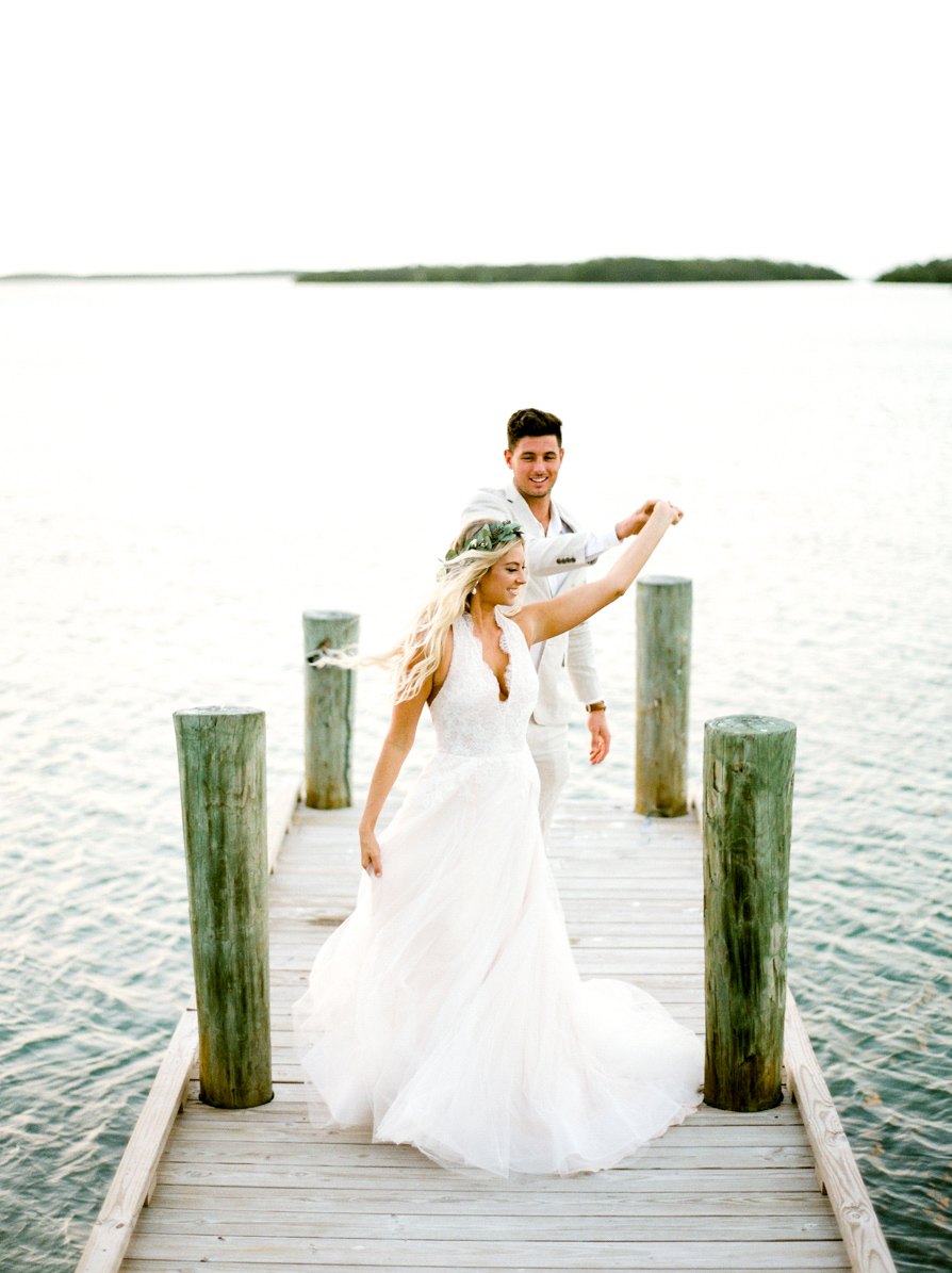 Pierre's Islamorada Tropical Wedding
