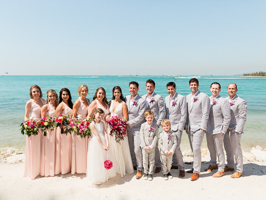 Sunset Key Wedding, Key West wedding Photographer, Key West Beach Weddings