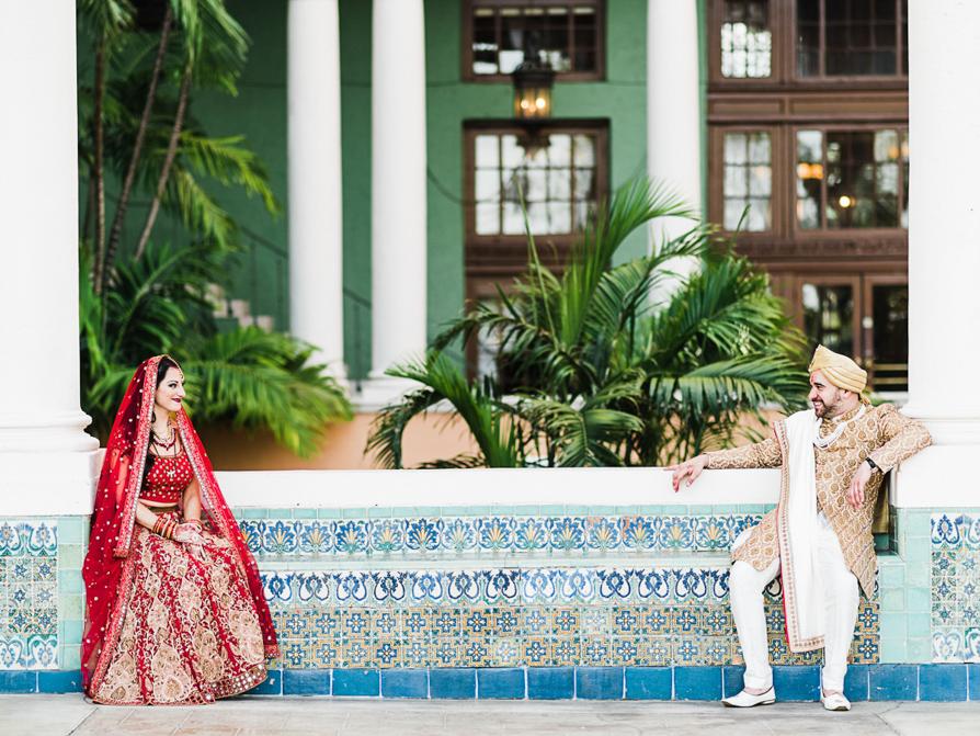 Hindu Weddings, Destination Wedding Photographer, The Biltmore Hotel