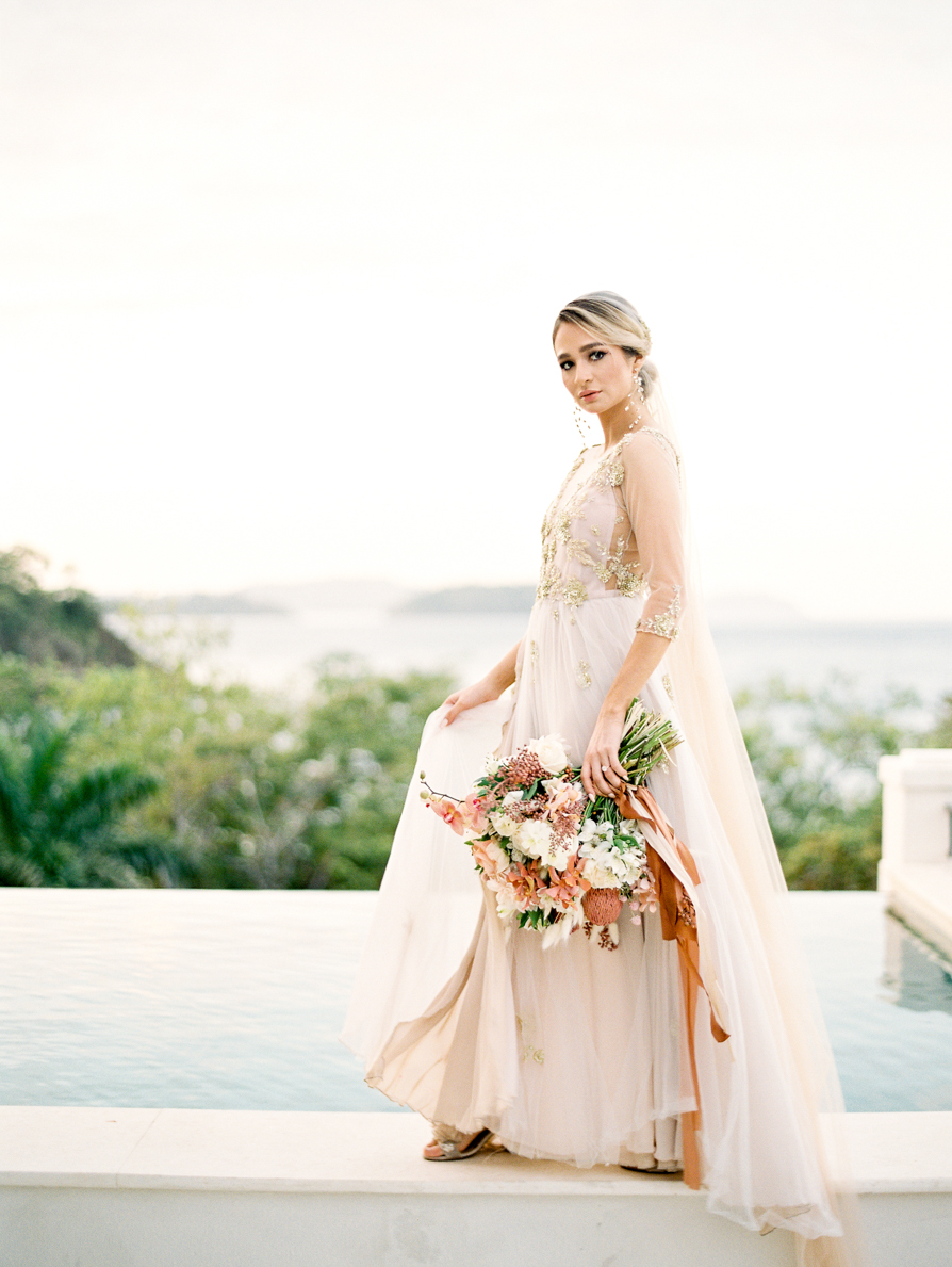 Costa Rica Beach Wedding, Costa Rica Wedding Photographer, Las Catalinas Wedding