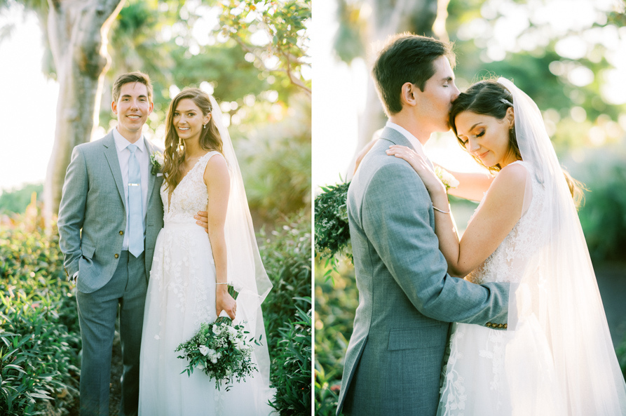 Key West garden Wedding